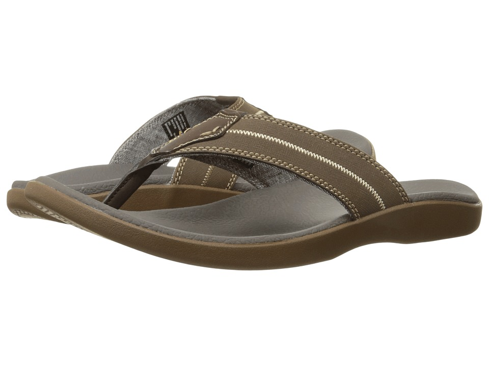 Dockers - Gulfcrest (Dark Brown Distressed) Men's Sandals