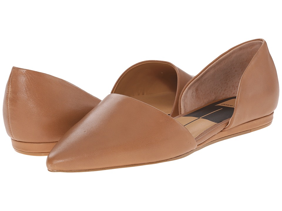 Dolce Vita - Adele (Tan Leather) Women's Slip on Shoes