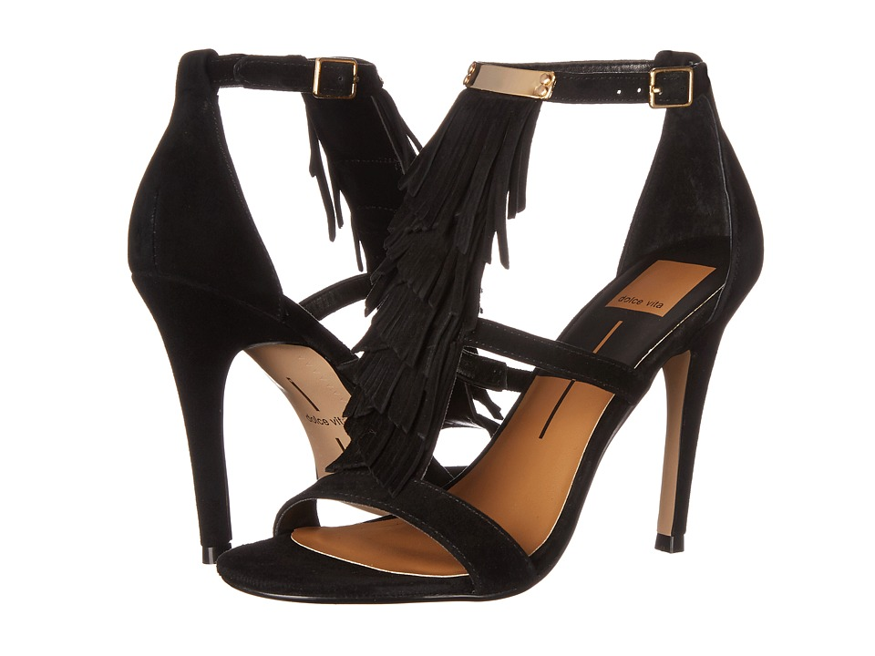 Dolce Vita - Mystic (Black Suede) Women's Shoes