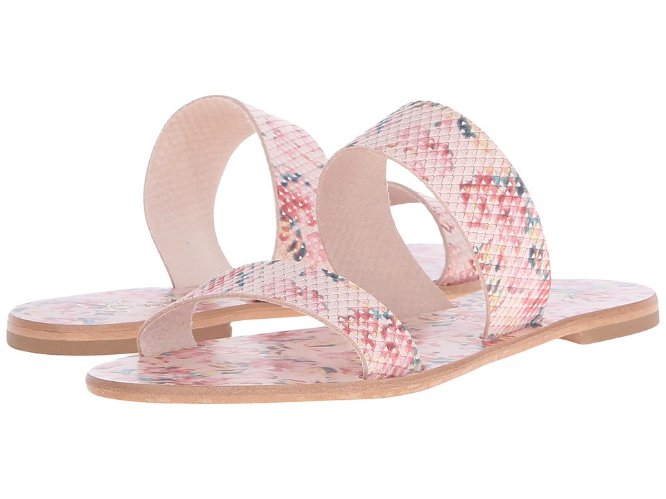Joie - Sable (Floral Pink Printed Leather) Women's Sandals