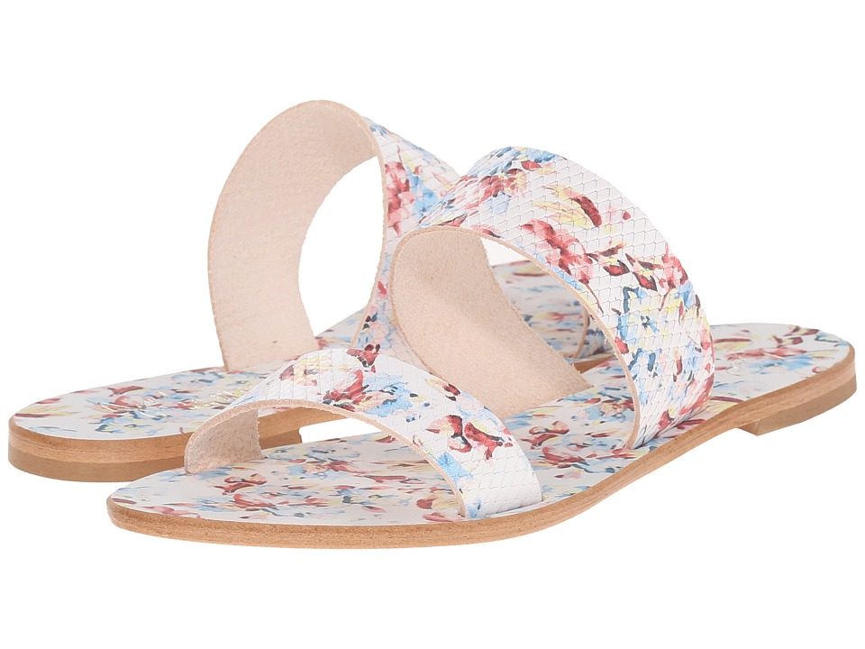 Joie - Sable (Floral White Printed Leather) Women's Sandals