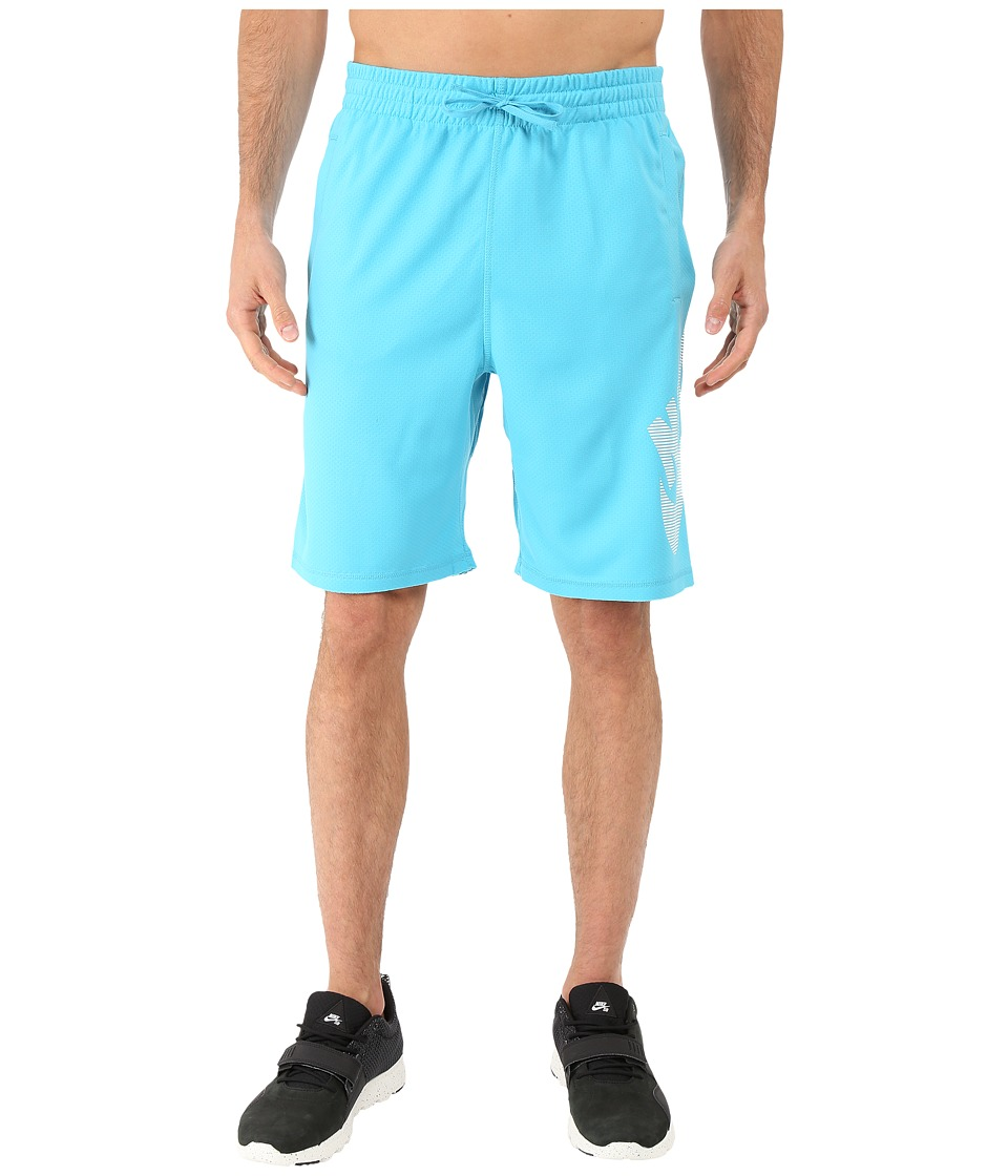 Nike SB - SB Dri-FIT Stripe Sunday Short (Omega Blue/Omega Blue) Men's Shorts