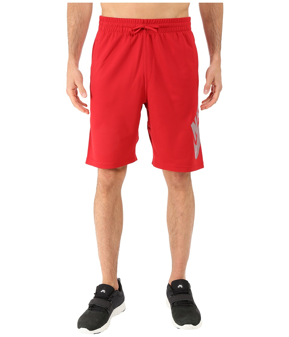 Nike SB - SB Dri-FIT Stripe Sunday Short (Gym Red/White) Men's Shorts