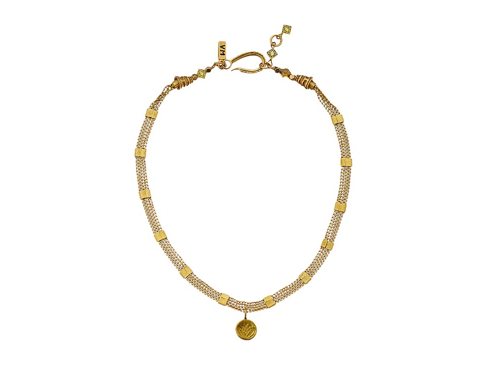 Vanessa Mooney - The Flame Choker Necklace (Brass) Necklace