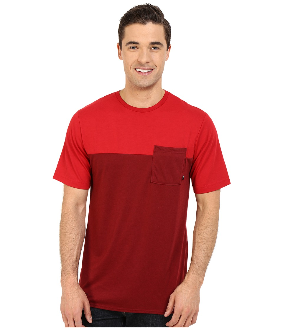 Nike SB - SB Dri-FIT Blocked Pocket Tee (Team Red/Gym Red) Men's T Shirt