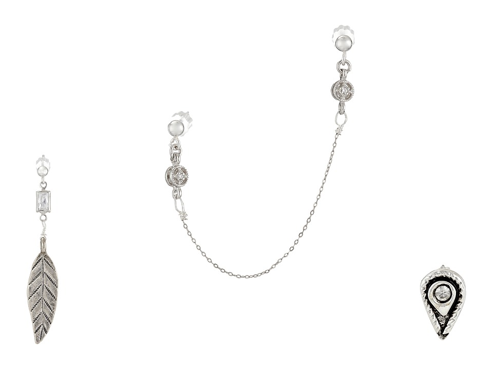 Vanessa Mooney - Zeppelin Earrings Set (Silver) Earring