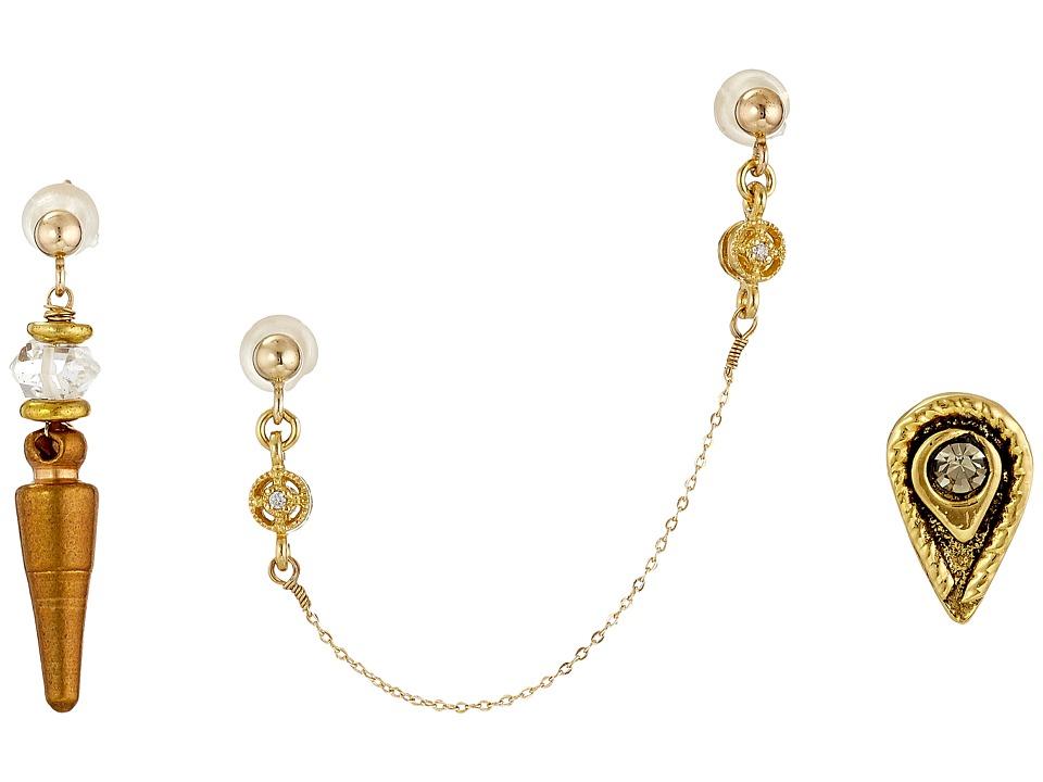 Vanessa Mooney - Zeppelin Earrings Set (Gold 2) Earring