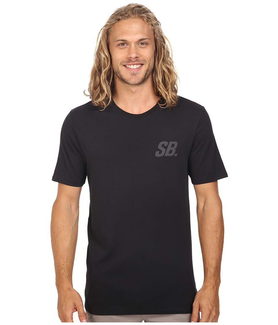 Nike SB - SB Tonal Tee (Black/Black/Black Heather) Men's T Shirt
