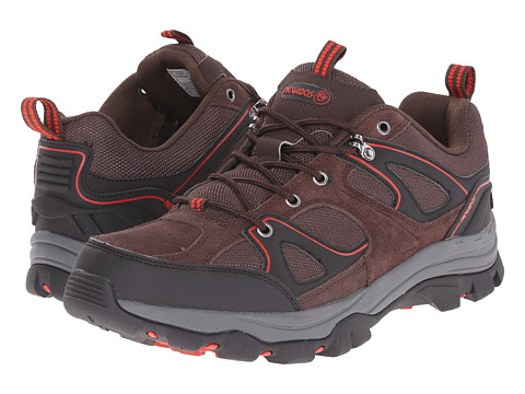 Nevados - Talus Low (Dark Chestnut/Red Spice/Black) Men's Boots