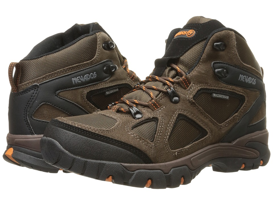 Nevados - Spire WP (Dark Brown/Orange/Black) Men