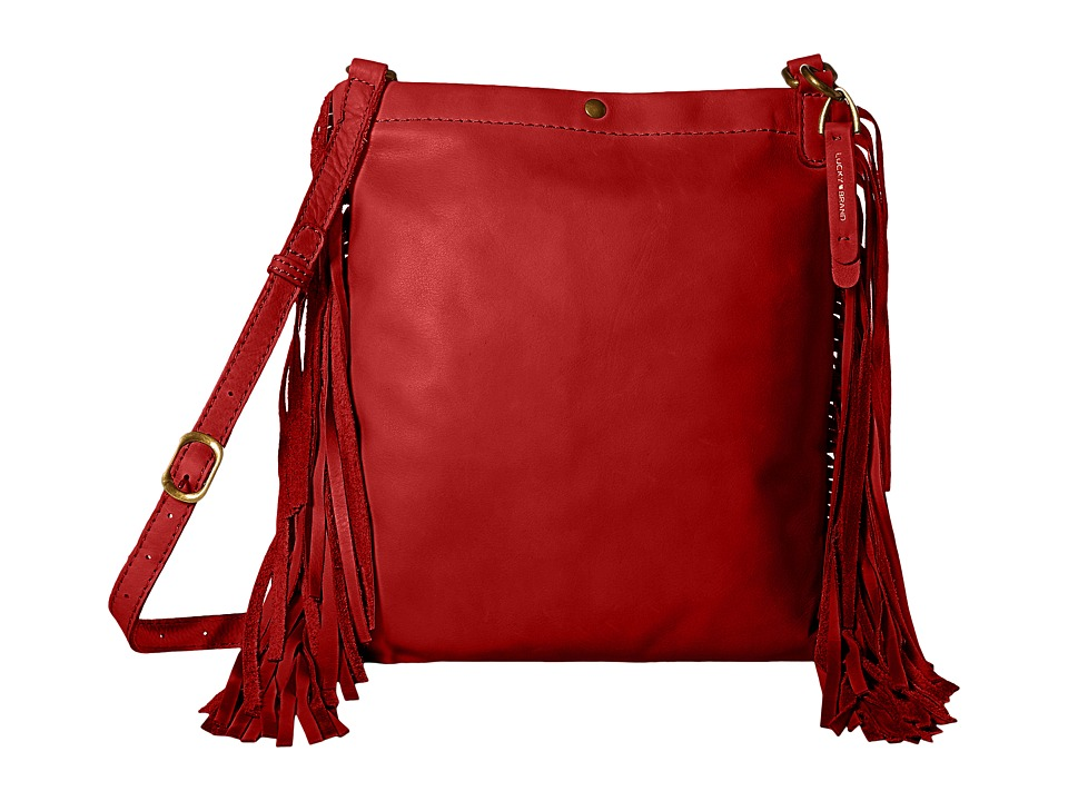 Lucky Brand - Rickey Crossbody (Ruby Red) Cross Body Handbags
