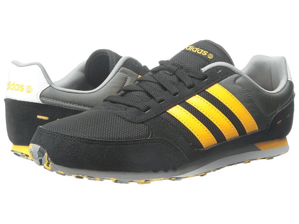 adidas - City Racer (Black/Gold/Grey) Men's Shoes