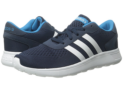 adidas - Lite Racer Engineere (Navy/White/Solar Blue) Men's Shoes