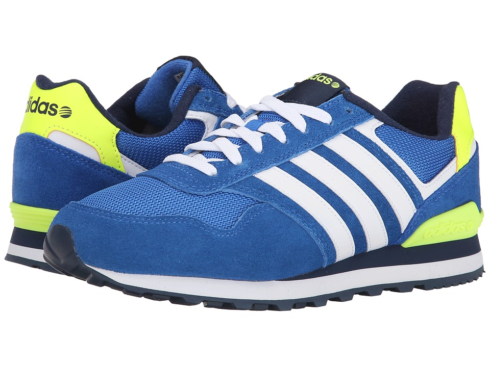 adidas - 10K (Blue/White/Navy) Men's Running Shoes