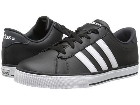 adidas - SE Daily Vulc (Black/White/Dark Grey) Men's Shoes