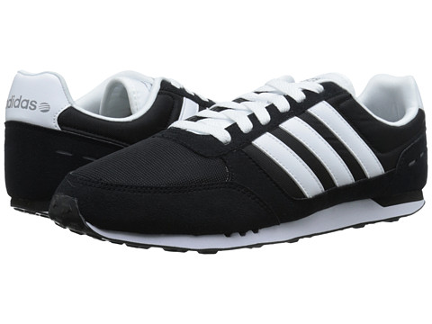 adidas - City Racer (Black/White/Grey) Men