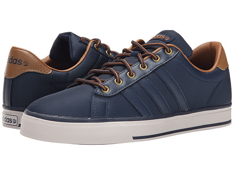 adidas - Daily (Navy/Navy/Timber) Men's Shoes