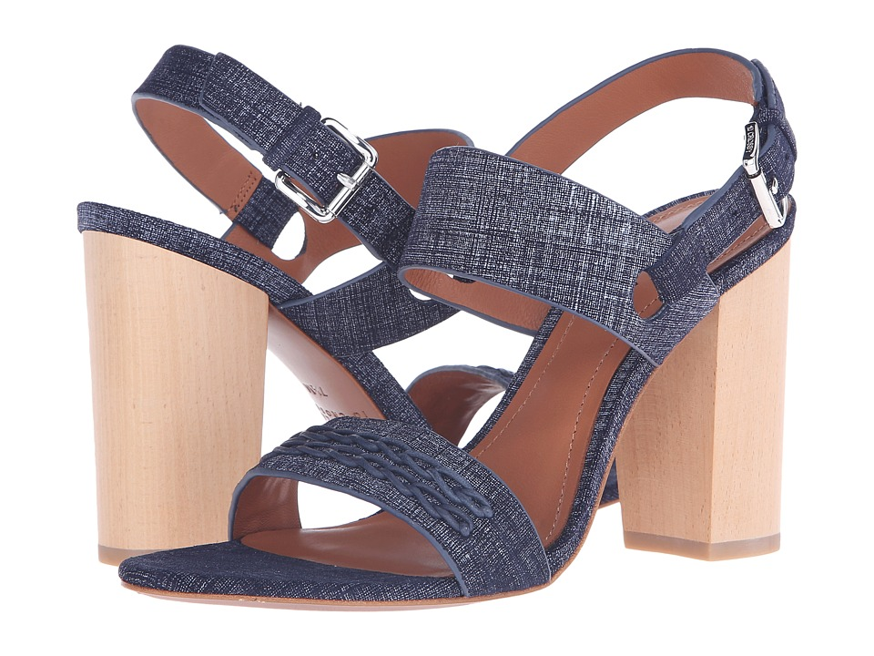10 Crosby Derek Lam - Mandy (Indigo Suede) Women's Sandals