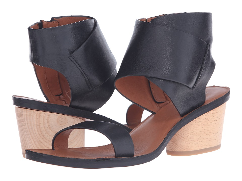 10 Crosby Derek Lam - Antonia (Black Soft Calf Vacchetta) Women's Sandals