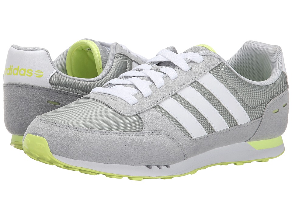 adidas - City Racer (Clear Onix/White/Yellow) Women's Shoes
