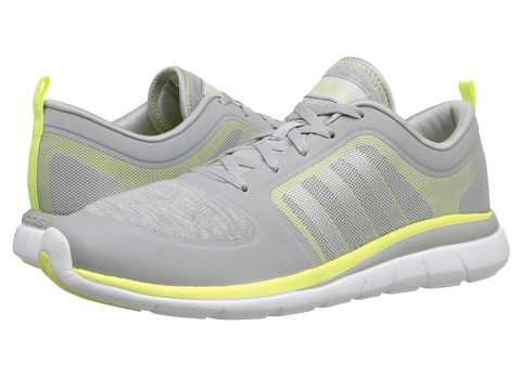 adidas - X Lite TM (Clear Onix/Silver/Frozen Yellow) Women's Shoes
