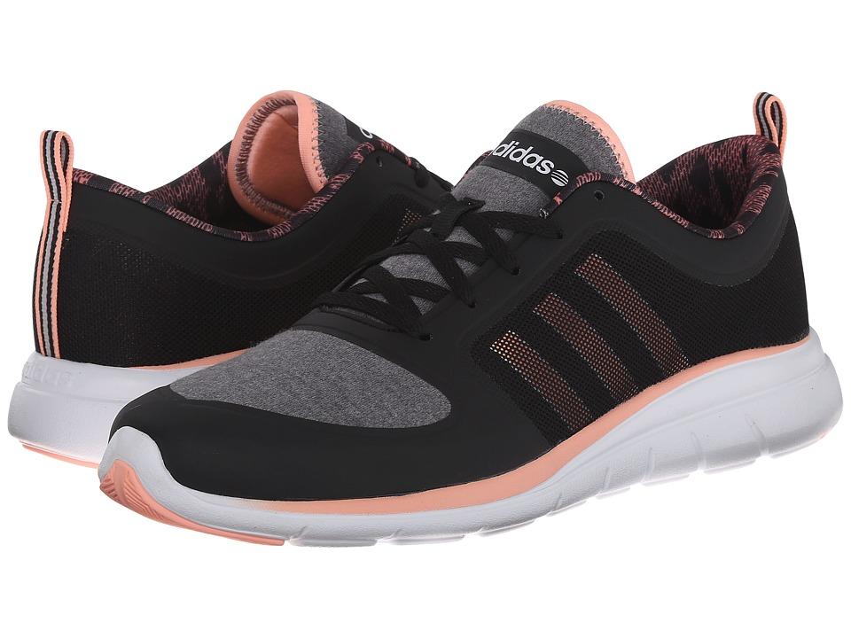adidas - X Lite TM (Black/Light Flash Orange/White) Women's Shoes