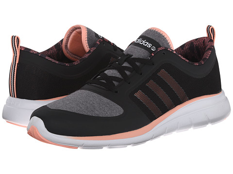 adidas - X Lite TM (Black/Light Flash Orange/White) Women's Shoes