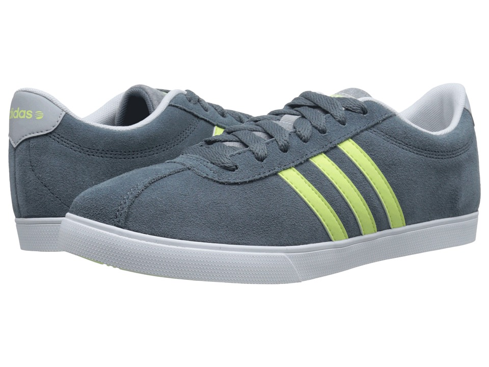 adidas - Courtset (Lead/Frozen Yellow/White) Women's Lace up casual Shoes