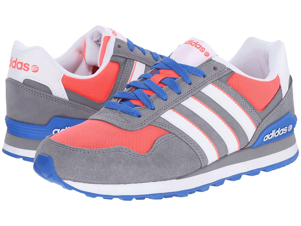 adidas - 10K (Grey/White/Flash Red) Women's Shoes