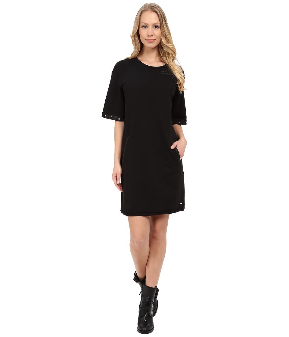 Diesel - D-Goldie Dress (Black) Women's Dress