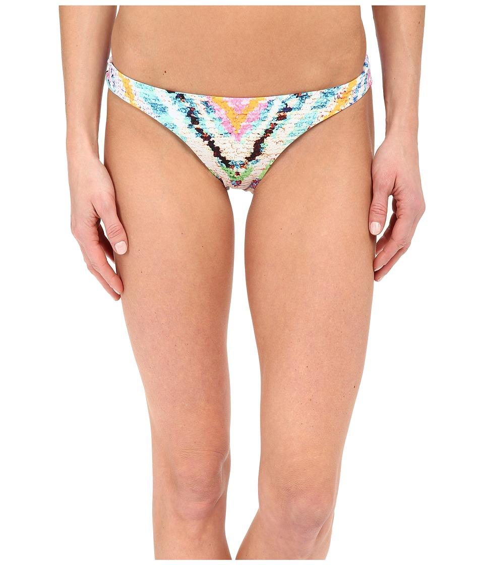 Mara Hoffman Rainbow Low Rise Bottom Multi Swimwear