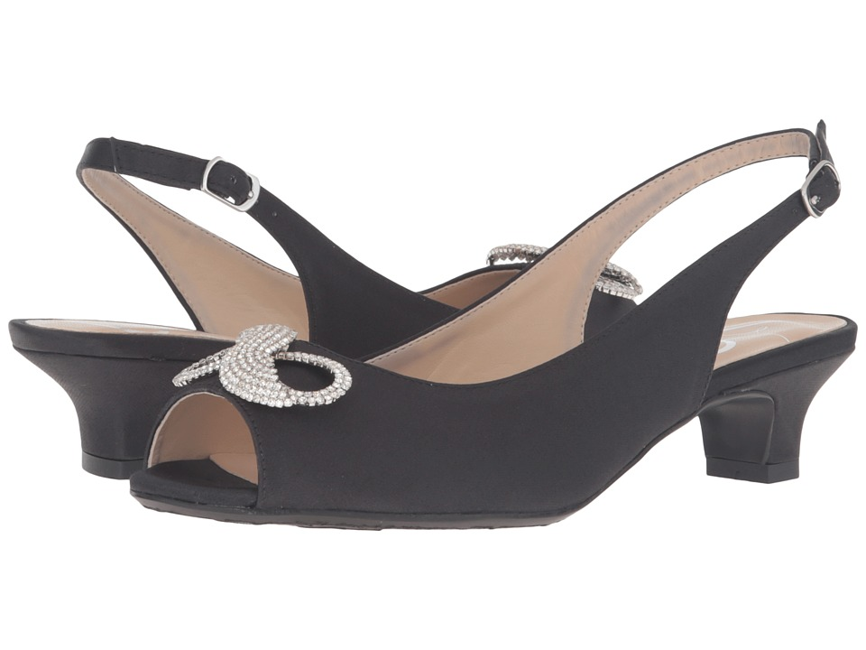 J. Renee - Jadantoo (Black) Women's Shoes