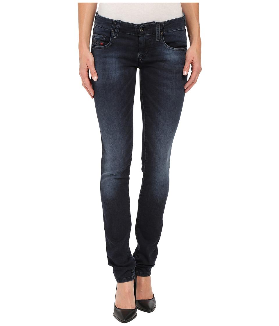 Diesel - Grupee-NE Sweat Jeans in Denim 848K (Denim) Women's Jeans