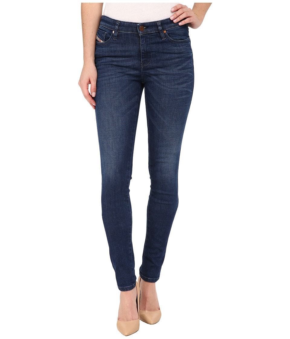 Diesel - Skinzee Trousers in Denim 848L (Denim) Women's Jeans
