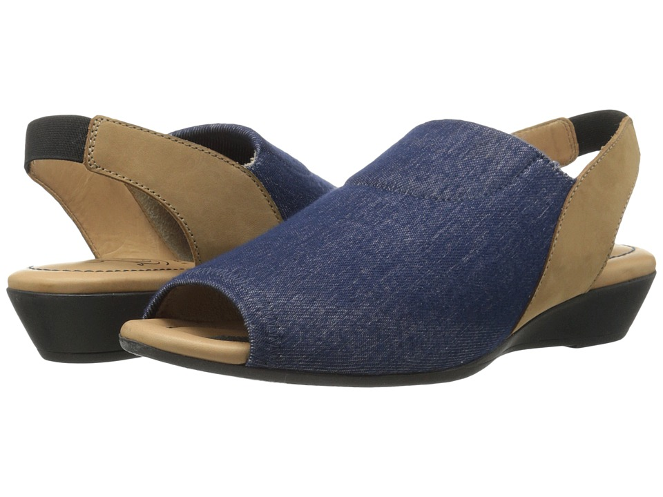 J. Renee - Mariel (Denim/Tan) Women's Shoes