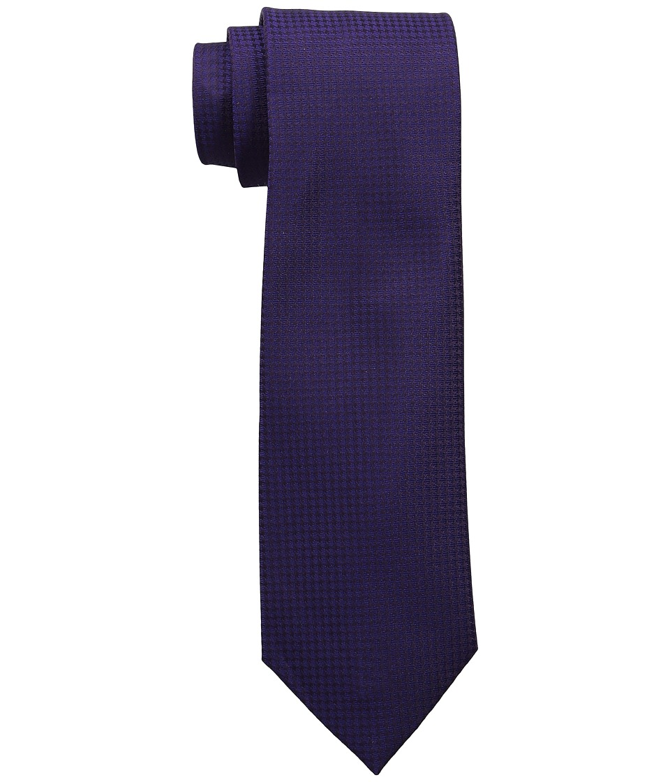 Calvin Klein - Modern Gingham (Purple) Ties