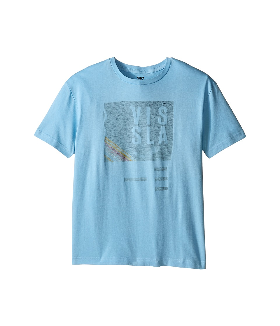 VISSLA Kids - Welcome T-Shirt (Big Kids) (Coastal Blue) Boy's T Shirt