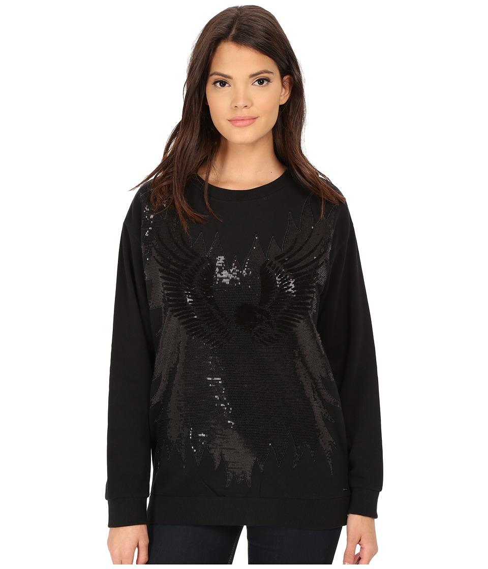Diesel - F-Maisa-E Sweatshirt (Black) Women's Sweatshirt