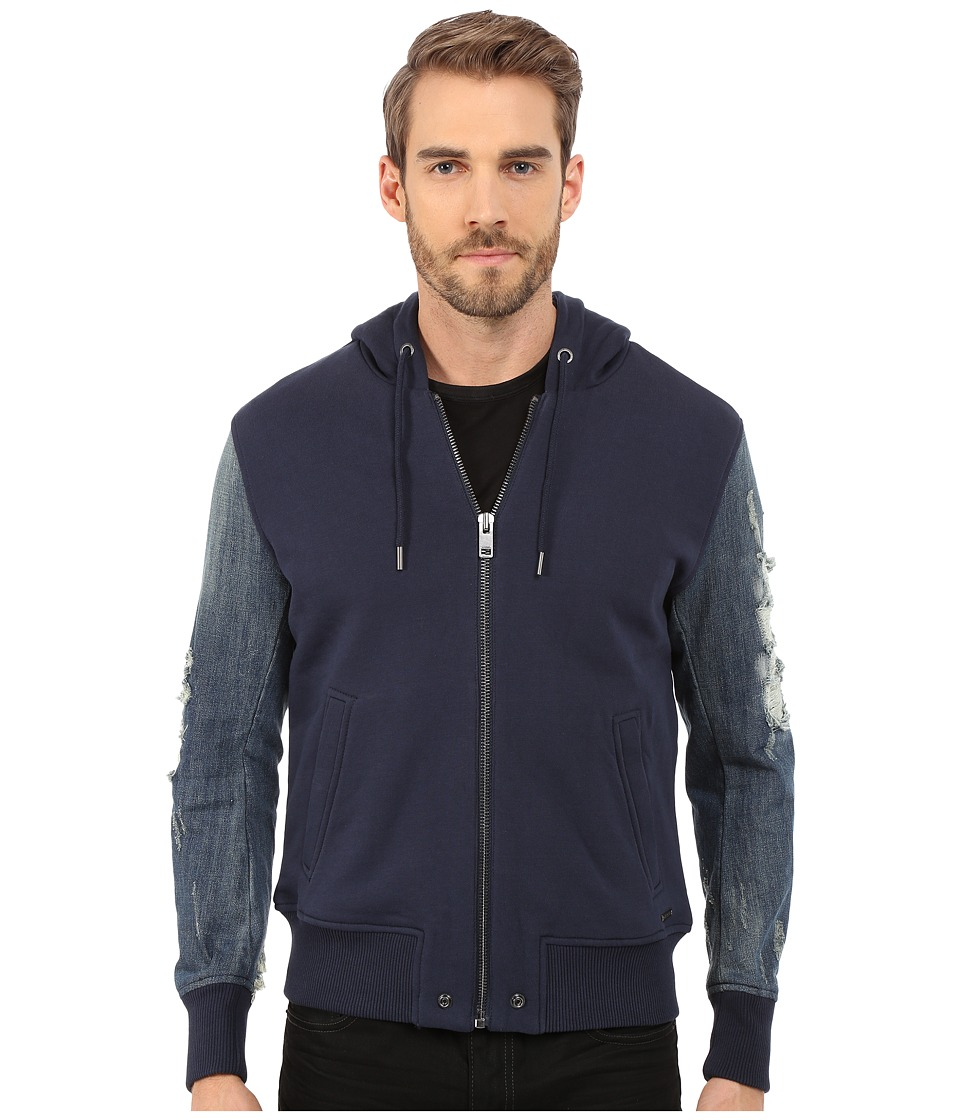 Diesel - S-Mirr Jacket (Midnight/Blue) Men's Coat