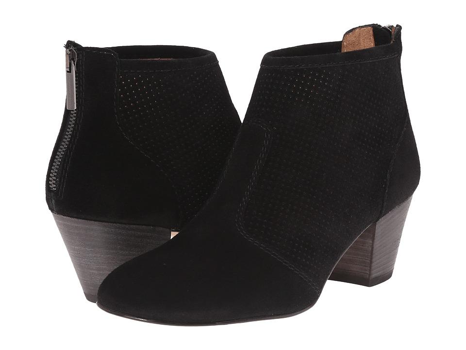 Aquatalia - Felicity (Black Suede) Women's Zip Boots