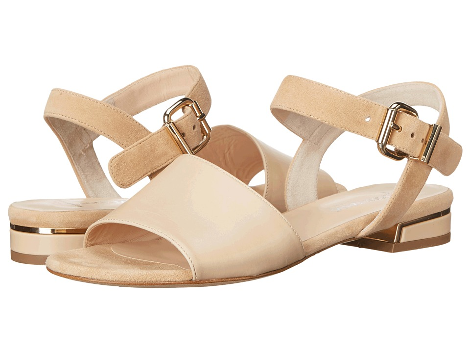 Aquatalia - Alice (Sand Suede Combo) Women's Sandals