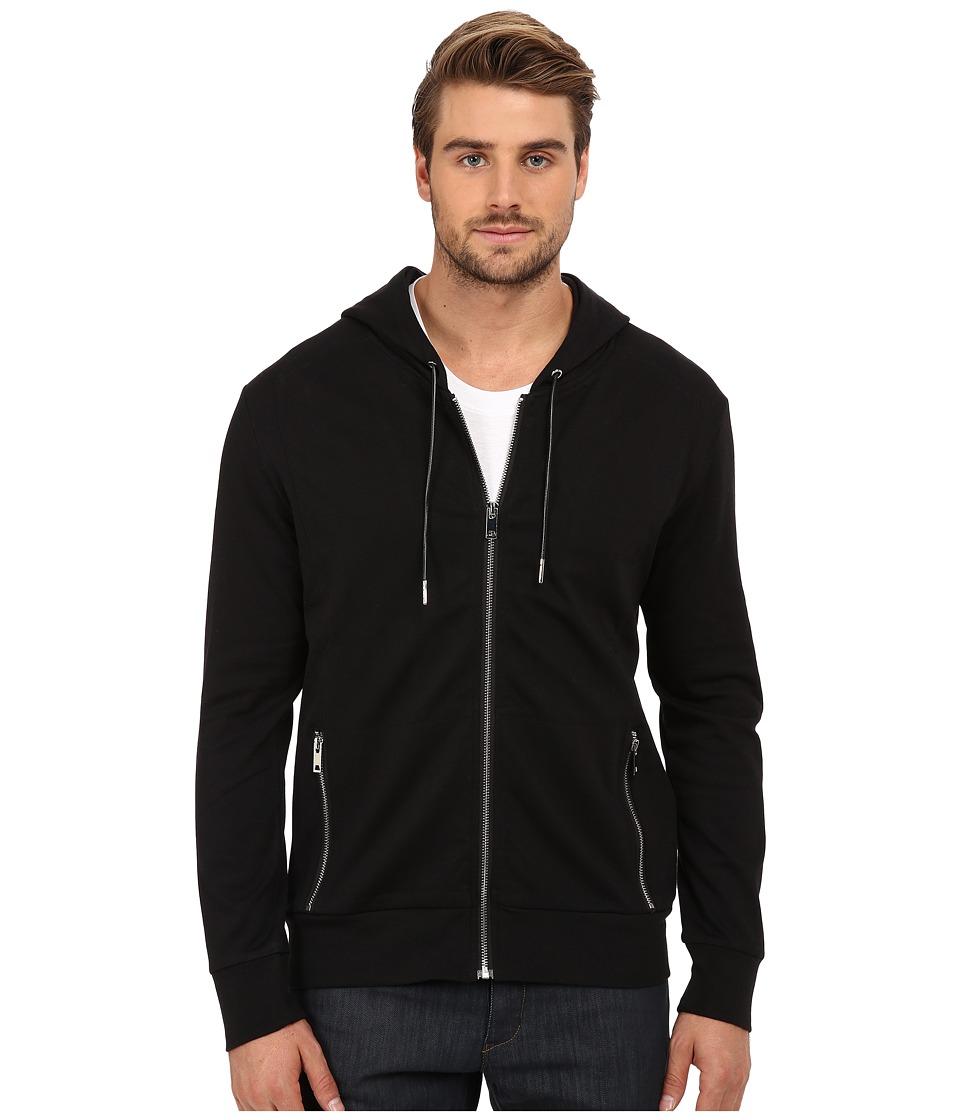 7 Diamonds - Potenza Long Sleeve Shirt (Black) Men's Sweatshirt