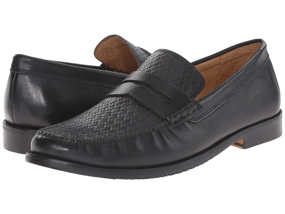 Tommy Bahama - Filbert (Black) Men's Slip on Shoes