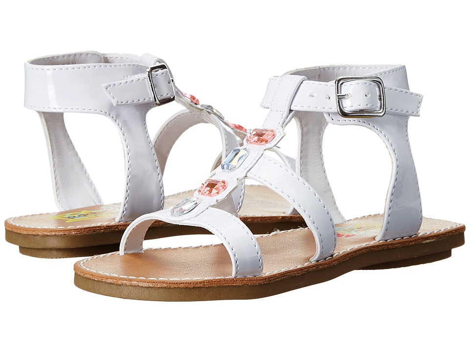 Rachel Kids - Lil Lexus (Toddler/Little Kid) (White Patent) Girls Shoes