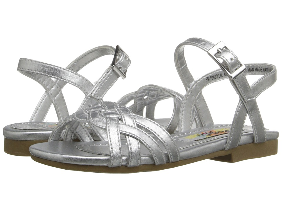 Rachel Kids - Lil Angelina 2 (Toddler/Little Kid) (Silver Metallic) Girls Shoes