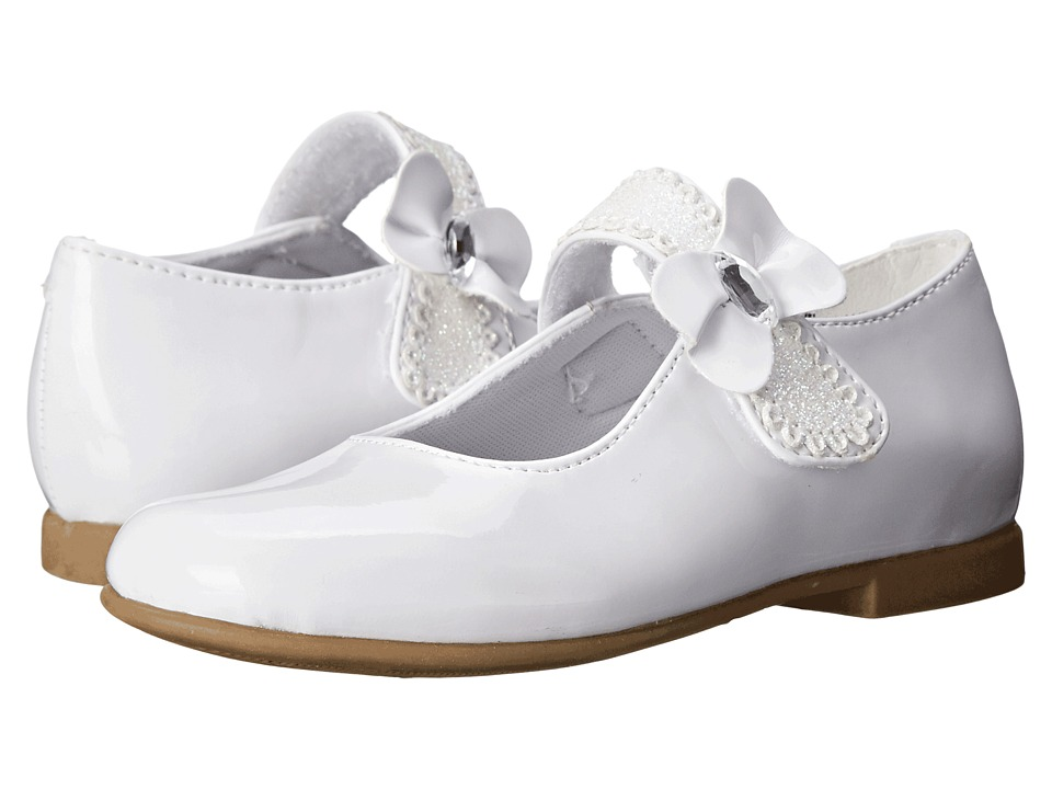 Rachel Kids - Laurel 2 (Toddler/Little Kid) (White Patent) Girls Shoes