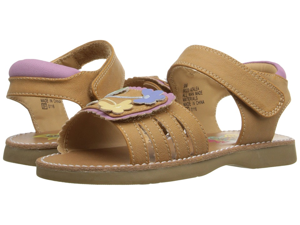 Rachel Kids - Azalea (Toddler) (Tan/Multi) Girls Shoes