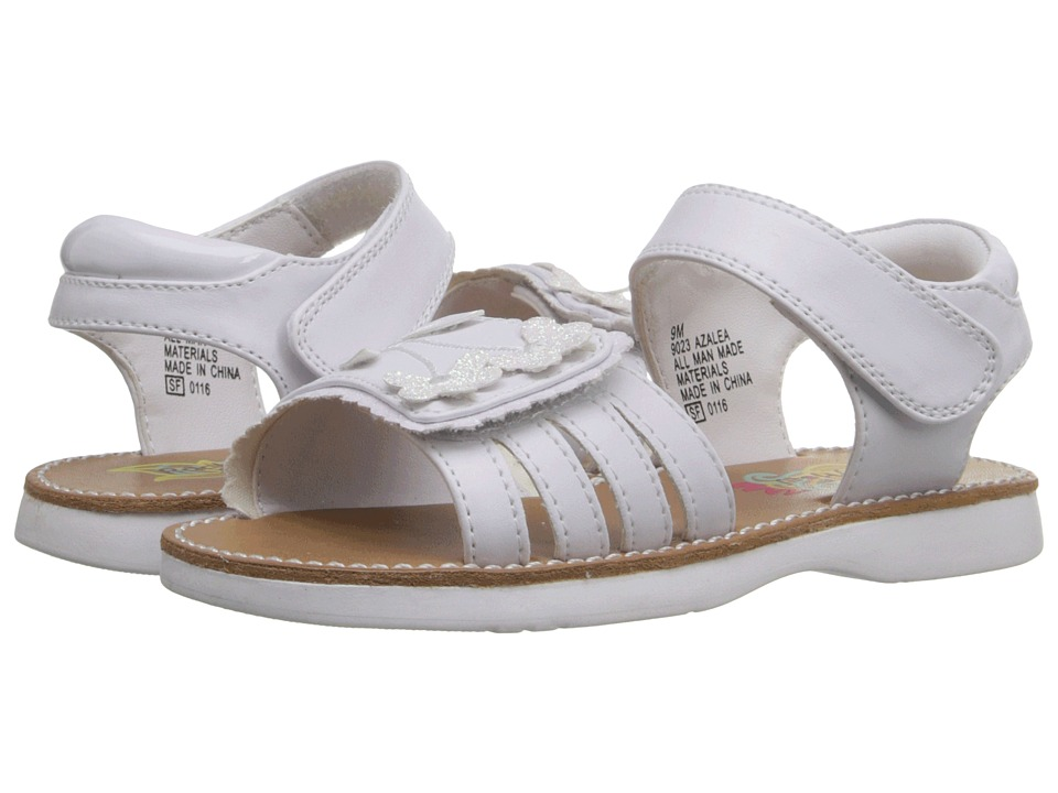 Rachel Kids - Azalea (Toddler) (White/White) Girls Shoes