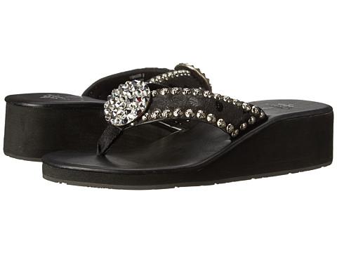 Gypsy SOULE - Esme Heel (Black) Women's Sandals