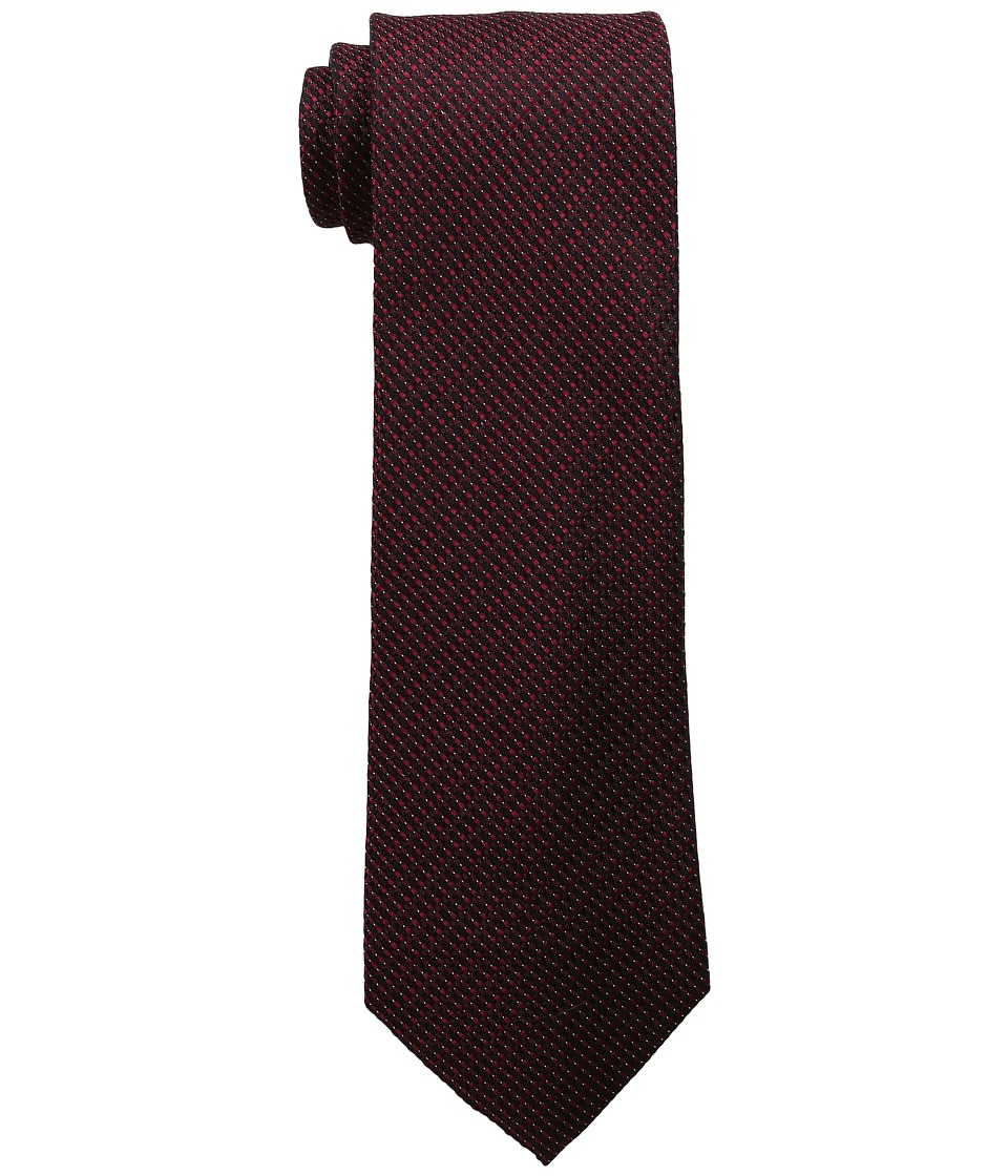 Kenneth Cole Reaction - Micro Texture (Burgundy) Ties